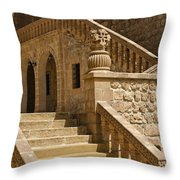 Stones And Stairs Throw Pillow