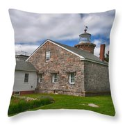 Stonington Light Throw Pillow