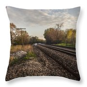 Stop And Ponder  Throw Pillow
