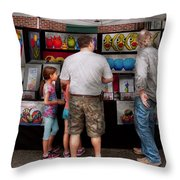 Store Front - Artist - Puppy Love  Throw Pillow by Mike Savad