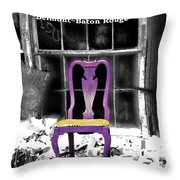 Stories  Belmont Baton Rouge Throw Pillow