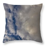 Storm Breaking Up Throw Pillow