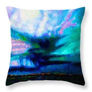 Storm Chasing Throw Pillow