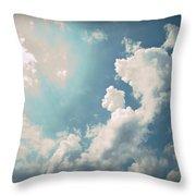Storm Clouds - 1 Throw Pillow