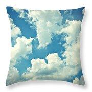 Storm Clouds - 2 Throw Pillow