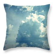 Storm Clouds - 4 Throw Pillow