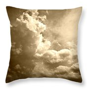 Storm Clouds - 5 Throw Pillow