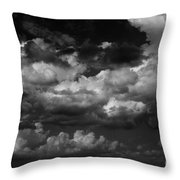 Storm Clouds 1 Throw Pillow