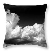 Storm Clouds 3 Throw Pillow