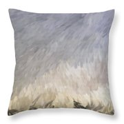 Storm In Life Throw Pillow
