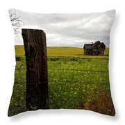 Storm On The Rage Throw Pillow