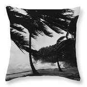 Storm Surge Throw Pillow by Omikron