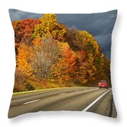 Stormin' Through Pennsylvania 2 Throw Pillow