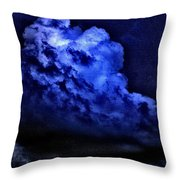 Storm's Coming Throw Pillow