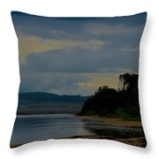 Stormy Morning Series Throw Pillow
