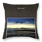 Stormy Morning Series Photobook Throw Pillow