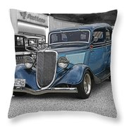 Stormy Skies Classic Throw Pillow