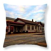 Stoughton Depot Throw Pillow