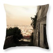 Strada Bella Throw Pillow