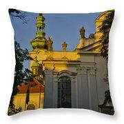 Strahov Monastery - Prague Throw Pillow