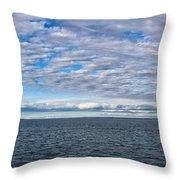 Straights Of Mackinac Throw Pillow
