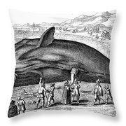 Stranded Whale, 1577 Throw Pillow