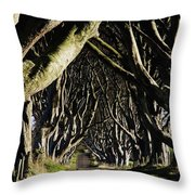 Stranocum, Co. Antrim, Ireland Throw Pillow