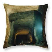 Strategic Petroleum Reserve Site Throw Pillow by DOE/Science Source