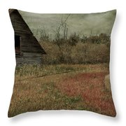 Strawberry Lane  Throw Pillow by Empty Wall