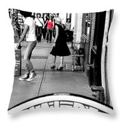 Street Farewell Throw Pillow