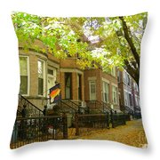 Windsor Terrace Throw Pillow
