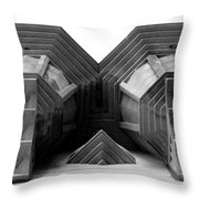Street Level Throw Pillow