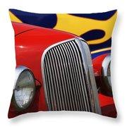 Street Rods - D001174 Throw Pillow
