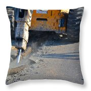 Street Work 1 Throw Pillow