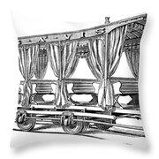 Streetcar, C1880 Throw Pillow