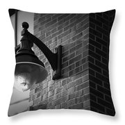 Streetlamp Throw Pillow by Eric Gendron