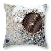 Streets Of Coronado Island 21 Throw Pillow