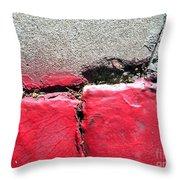Streets Of Coronado Island 23 Throw Pillow