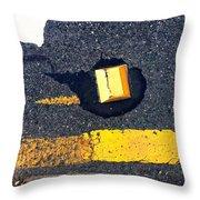 Streets Of Coronado Island 34 Throw Pillow