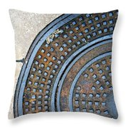 Streets Of La Jolla 2 Throw Pillow