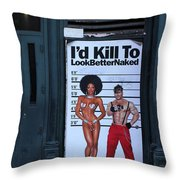 Streets Of New York 1 Throw Pillow