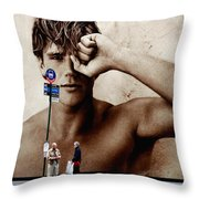 Streets Of New York 10 Throw Pillow