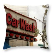 Streets Of New York 11 Throw Pillow