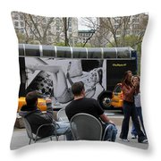 Streets Of New York 5 Throw Pillow