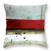 Streets Of New York Abstract Eight Throw Pillow
