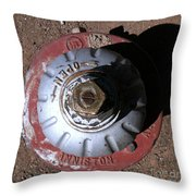 Streets Of Tombstone 11 Throw Pillow