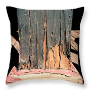 Streets Of Tombstone 6 Throw Pillow