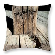 Streets Of Tombstone 7 Throw Pillow