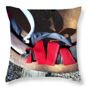 Streets Of Tucson 90 Throw Pillow