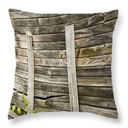 Stressed Wall Throw Pillow